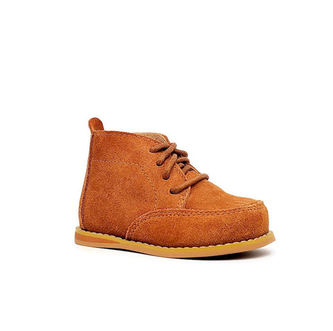 Vintage Suede Wallabees - Camel - Tippy Tot Shoes
