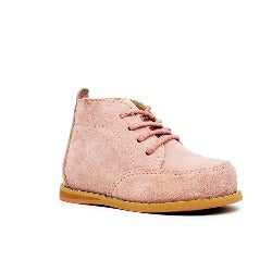 Vintage Suede Wallabees - Blush Pink - Tippy Tot Shoes