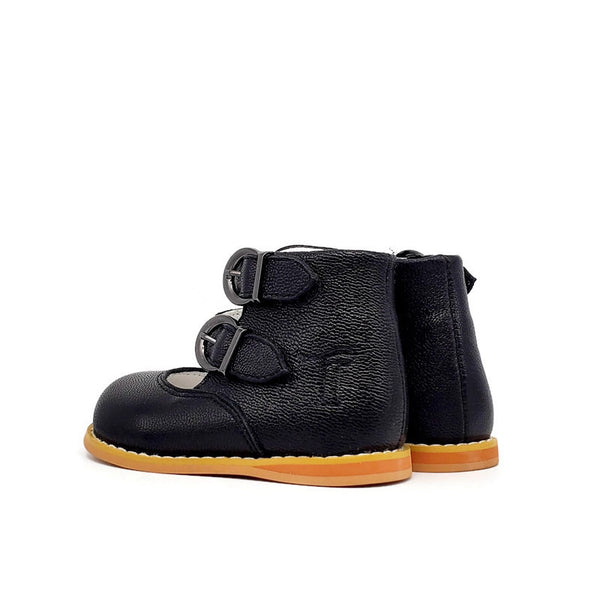 Mary Jane Vintage - Black - Tippy Tot Shoes