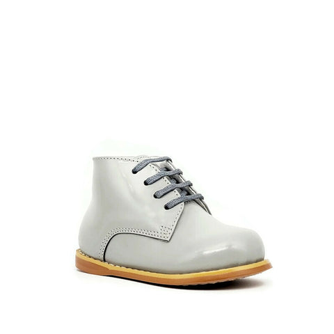 Classic Walkers - Smooth Grey - Tippy Tot Shoes