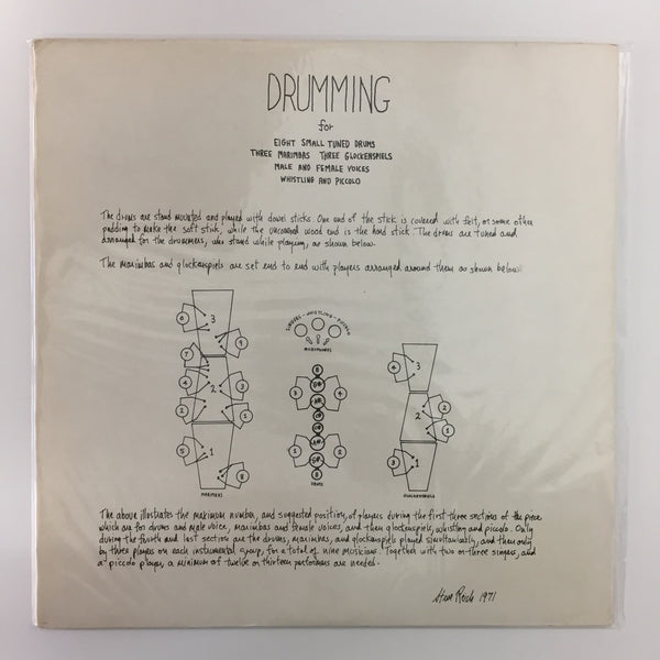 Drumming (NM/VG+) 1st Press John Gibson + Multiples US 1971