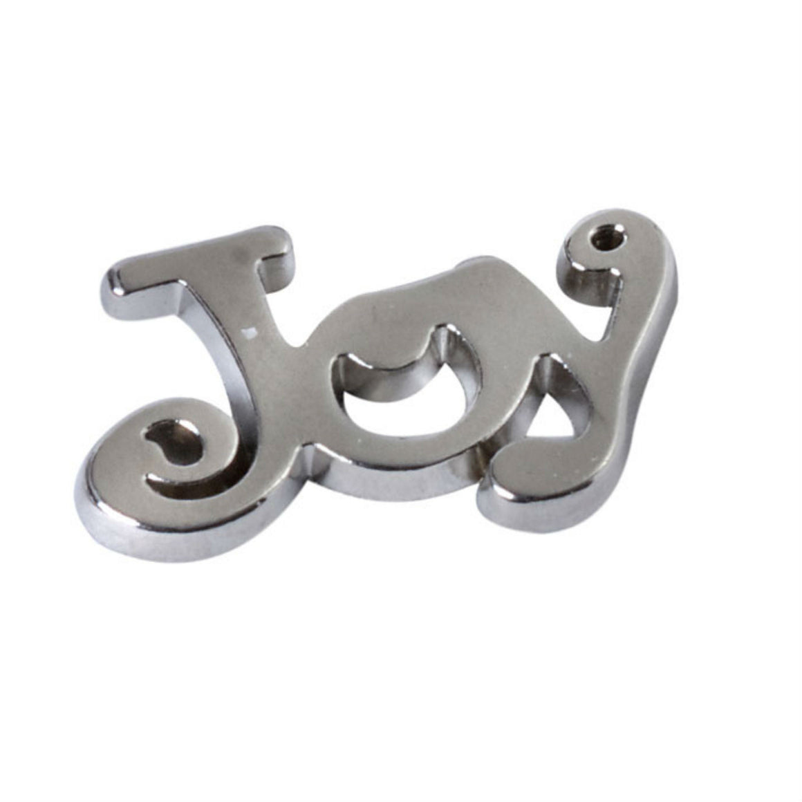 Silver Love, Joy or Noel Table Confetti