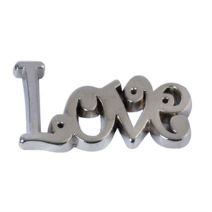 Silver Love, Joy or Noel Table Confetti - The Love Trees