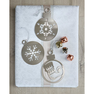 Set of 3 2D Bauble Decorations - The Love Trees