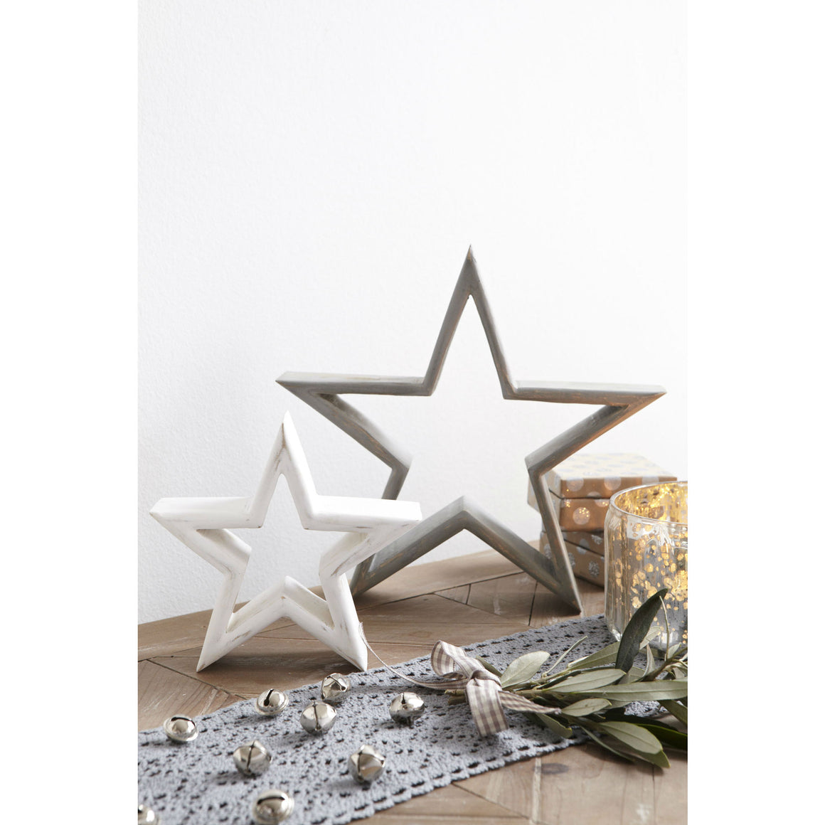 Set Of 2 Mantelpiece Stars - The Love Trees