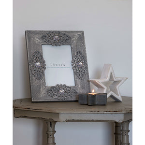 Grey Moroccan Jewel Frame 5x7 - The Love Trees