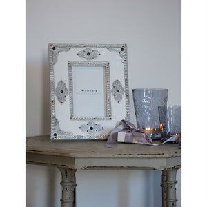 White Persian Frame 5x7