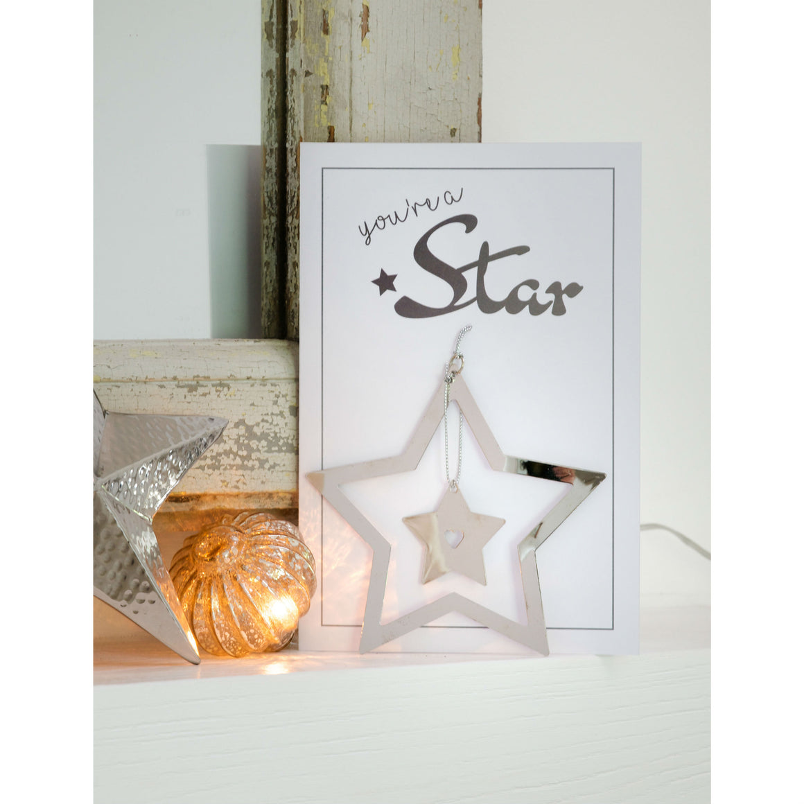 You're A Star Greetings Card and Keepsake - The Love Trees
