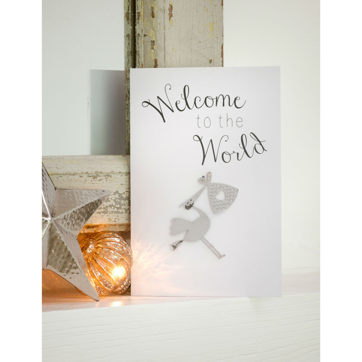 Welcome To The World Greetings Card and Keepsake
