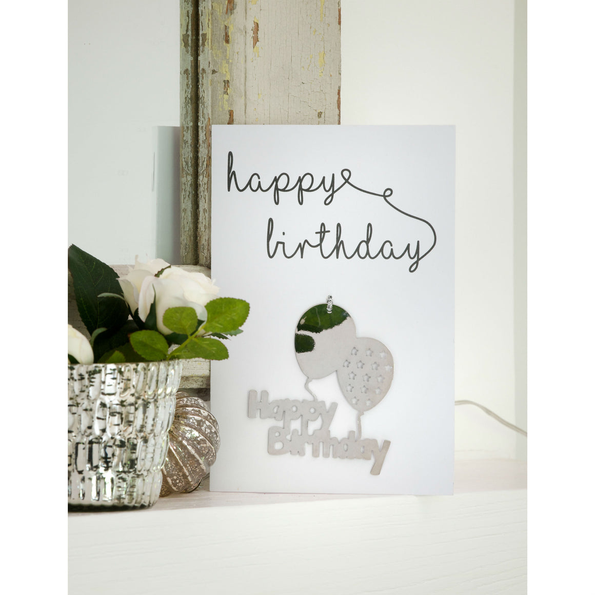 Happy Birthday Greetings Card and Keepsake - The Love Trees