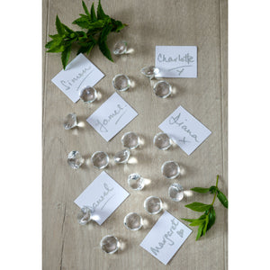 Large Crystal Diamond Table Confetti - The Love Trees