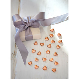 Rose Gold Heart Table Confetti - The Love Trees