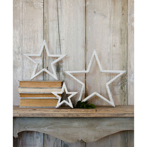 Set Of 3 Mantelpiece Stars - The Love Trees