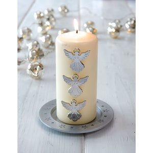 Set Of 3 Angel Candle Pins - The Love Trees