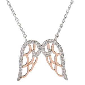 Sophie Oliver Valencia Angel Wings Necklace