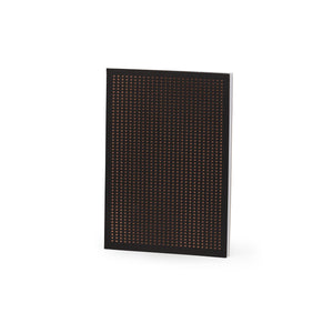 Perforated Black And Copper Grid A5 Notebook