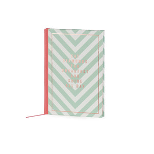 Eat Diamonds For Breakfast And Shine All Day A5 Notebook - The Love Trees