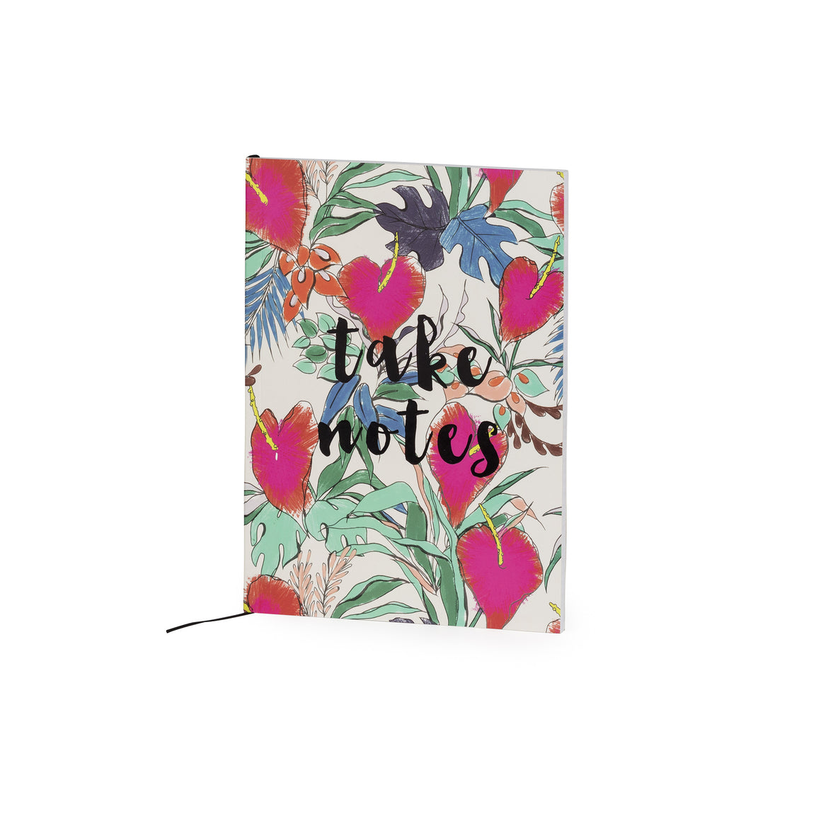 Take Notes Floral Print A5 Jotter