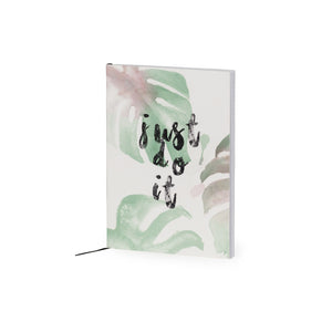 Just Do It Palm Print A5 Jotter - The Love Trees