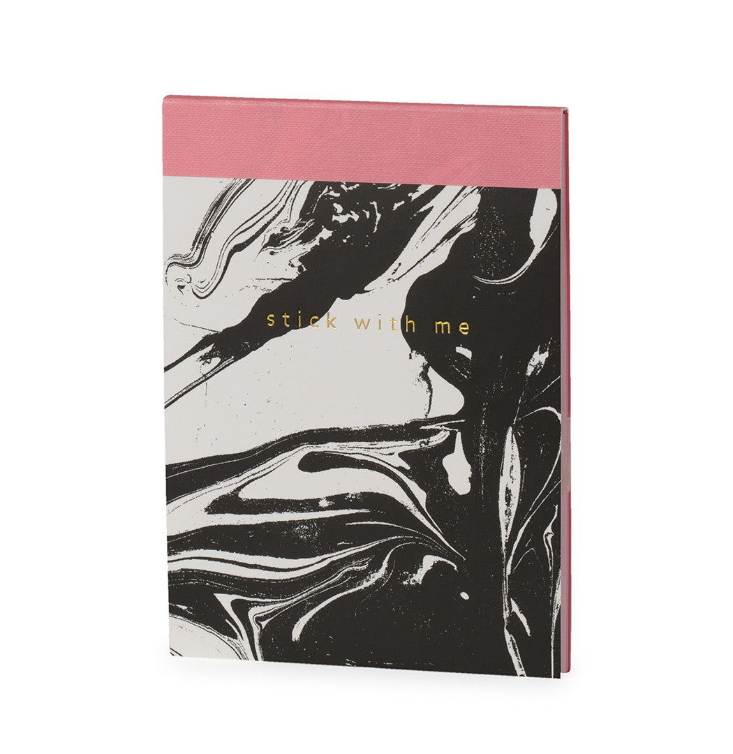 Marble Sticky Note Memopad - The Love Trees