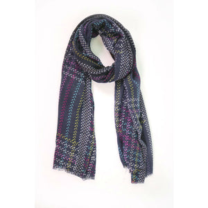 Multi Colour Print Scarf