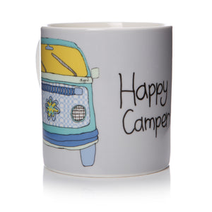Happy Camper - Camper Van Mug - The Love Trees