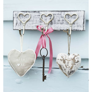 Vintage Hooks With Heart Design - The Love Trees