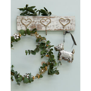 Vintage Hooks With Heart Design
