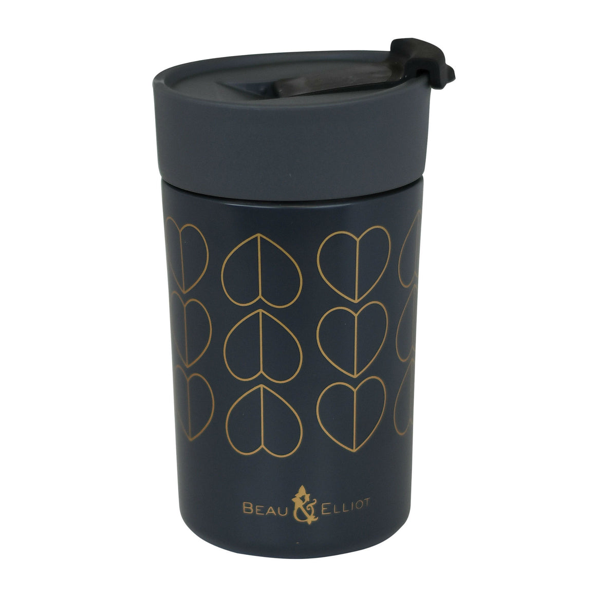 Beau & Elliot Insulated Travel Mug Dove Grey 300ml - The Love Trees