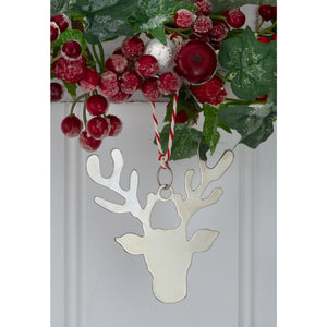 Reindeer Head Christmas Decoration