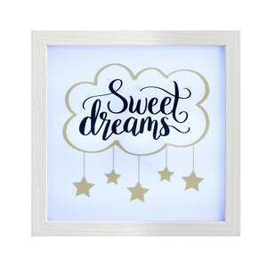 Light Box Frame-Sweet Dreams - The Love Trees