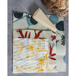 Apiary Made Sustainable Beeswax Cheese Wraps - The Love Trees