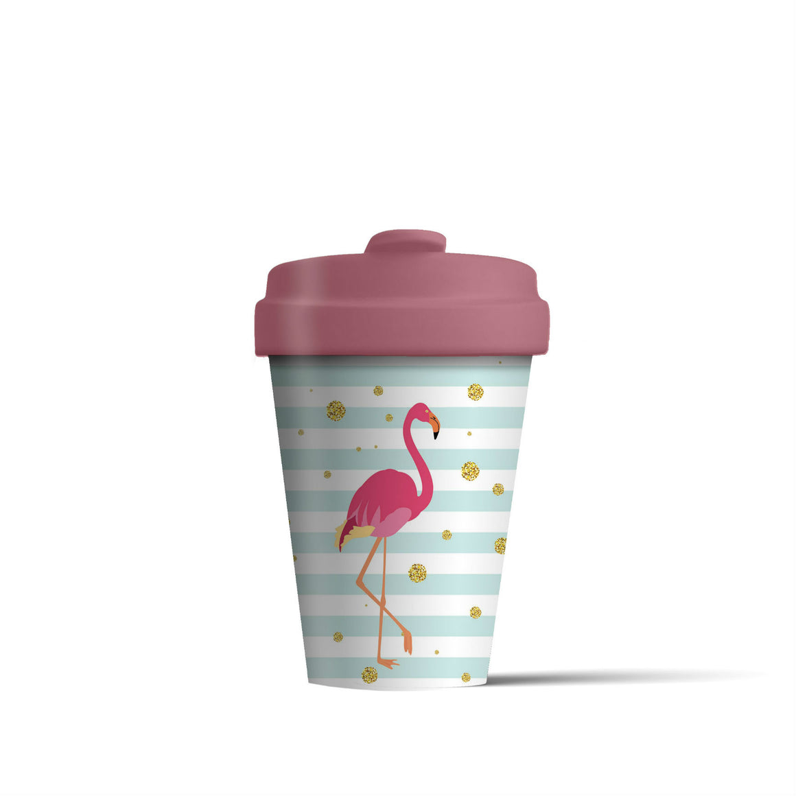 Flamingo BambooCup - The Love Trees