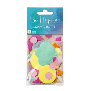Be Happy Colour Tissue Confetti - The Love Trees