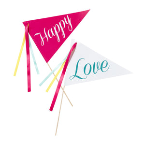 Be Happy Flags - The Love Trees