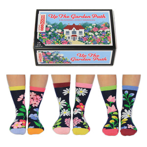 United Odd Socks Up The Garden Path Ladies Gift Box