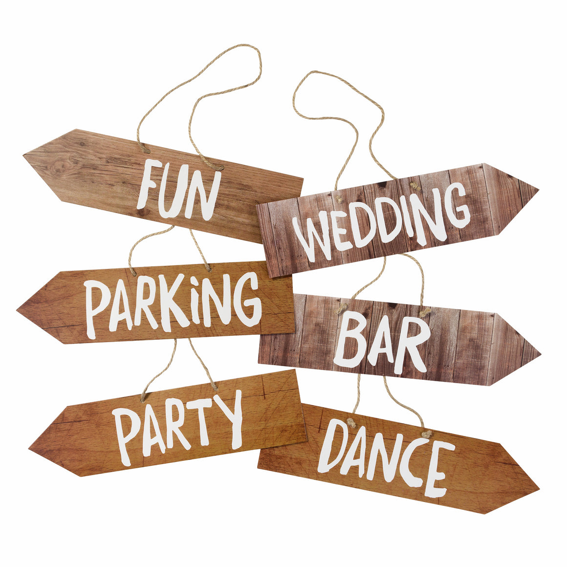 Blossom & Brogues Fun Venue Signs - The Love Trees