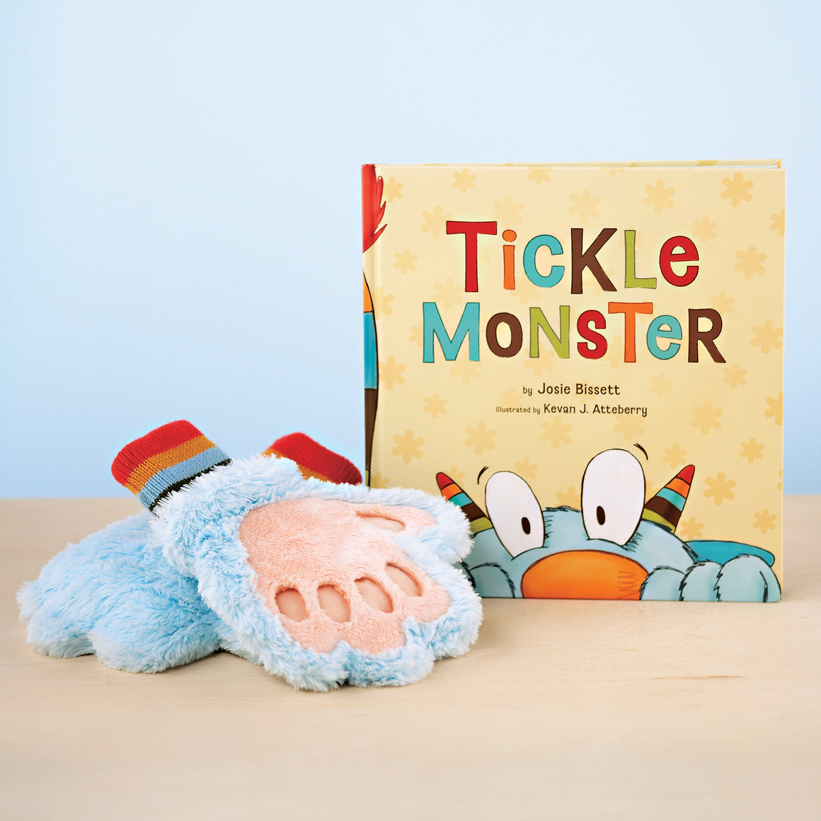 Tickle Monster Laughter Book Kit