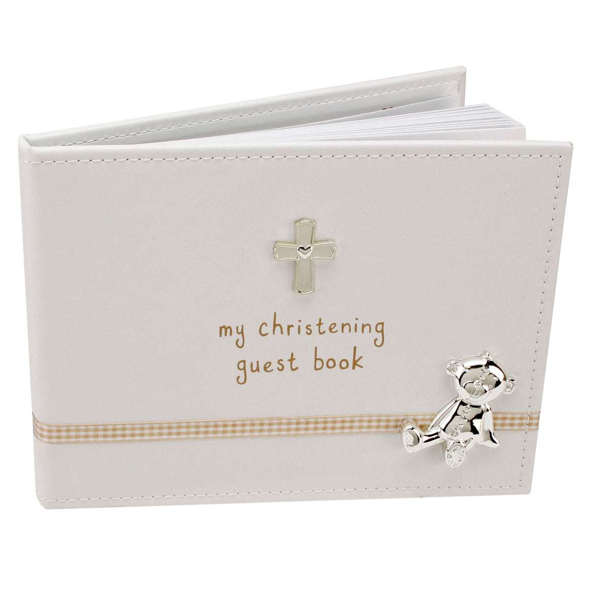 "Button Corner ""My Christening Guest Book"" - 40 pages - The Love Trees"