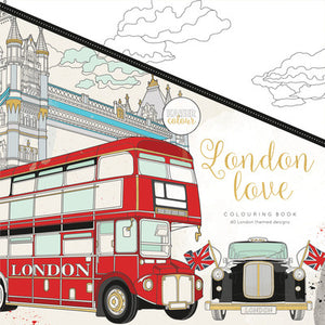 KaiserColour London Love Colouring Book - The Love Trees