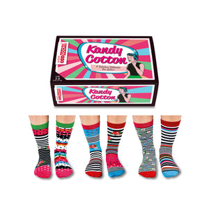 United Odd Socks Cotton Kandy Ladies Gift Box - The Love Trees