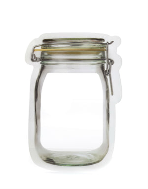 Zipper Mason Jar Small Bag