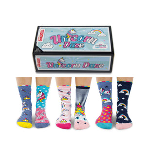 Odd Socks Unicorn Daze Girls Gift Box