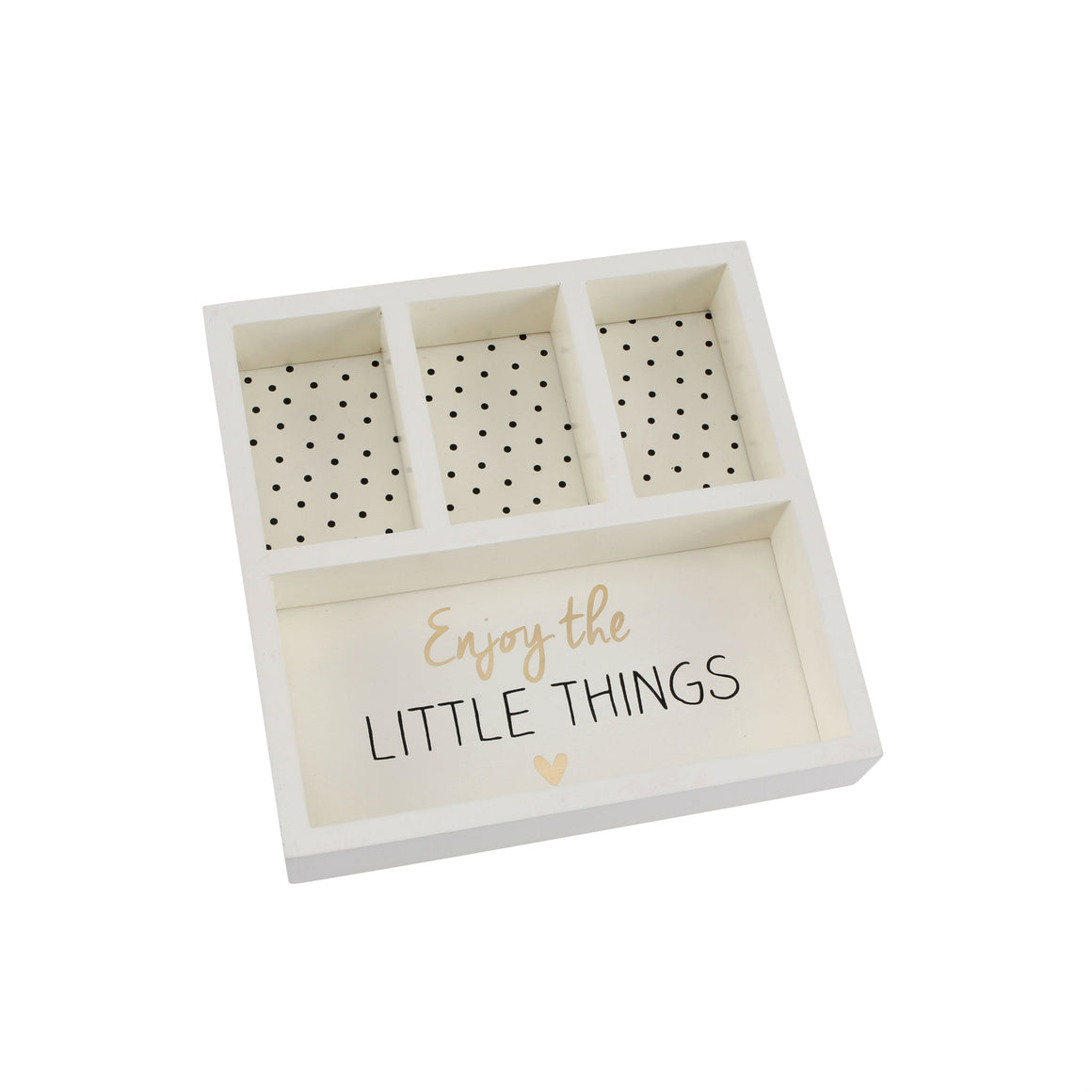 Absolutely Fabulous 'Enjoy The Little Things' Jewellery Box Tray - The Love Trees