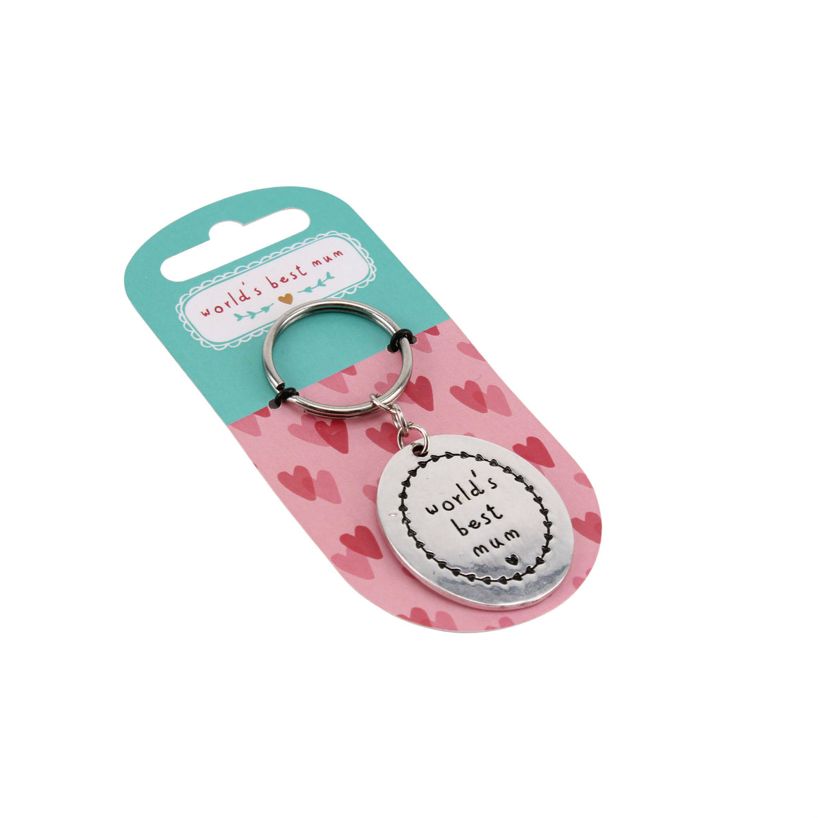 World's Best Mum Keyring - The Love Trees