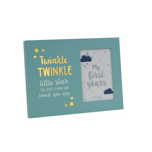 Twinkle Twinkle Little Star Light Up Photo Frame 4x6