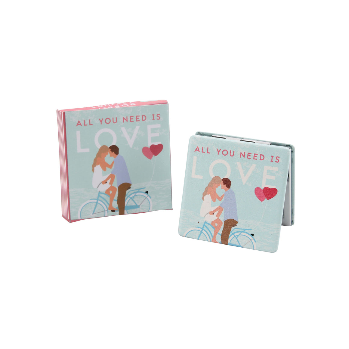 All You Need Is Love Compact Mirror - The Love Trees