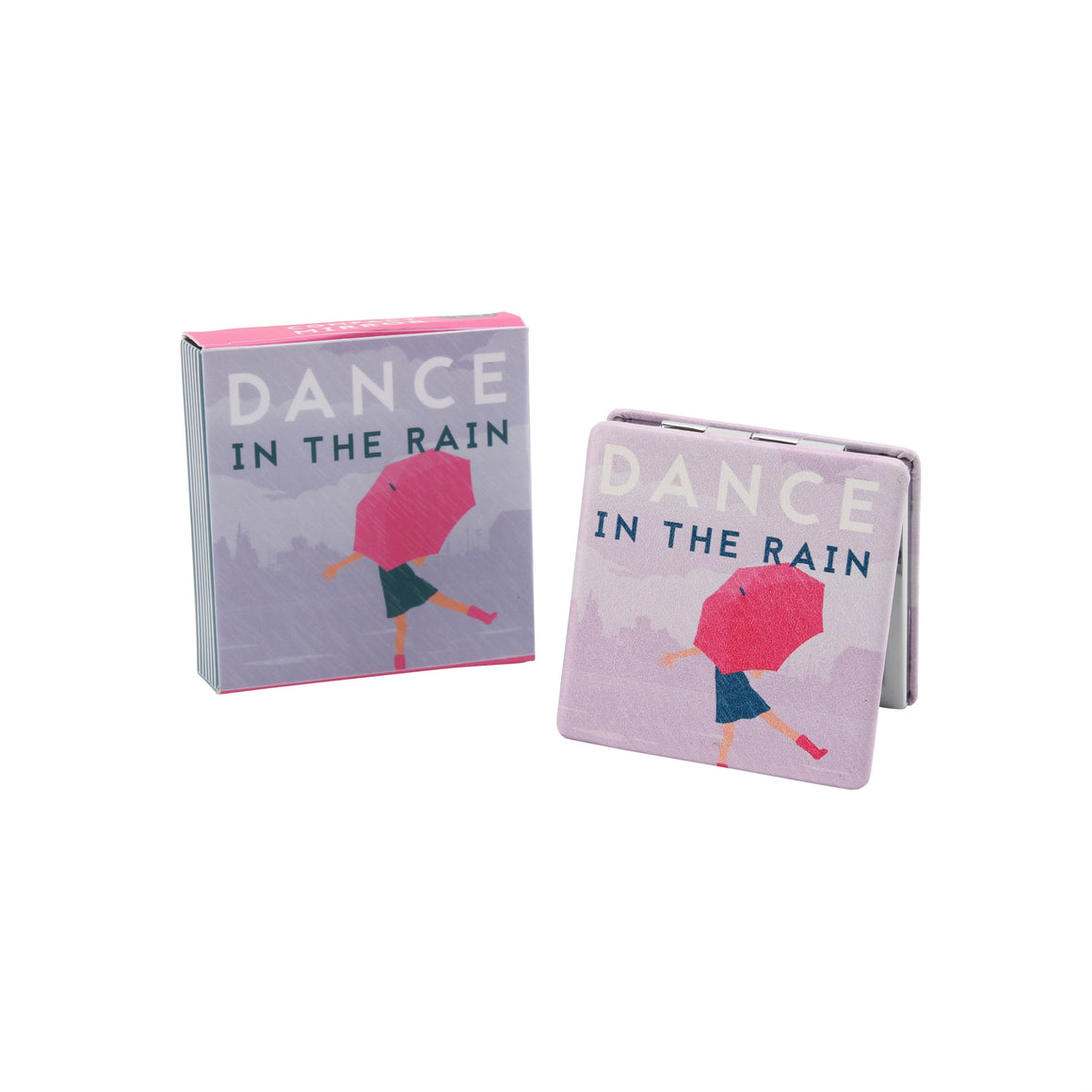 Dance In The Rain Compact Mirror - The Love Trees