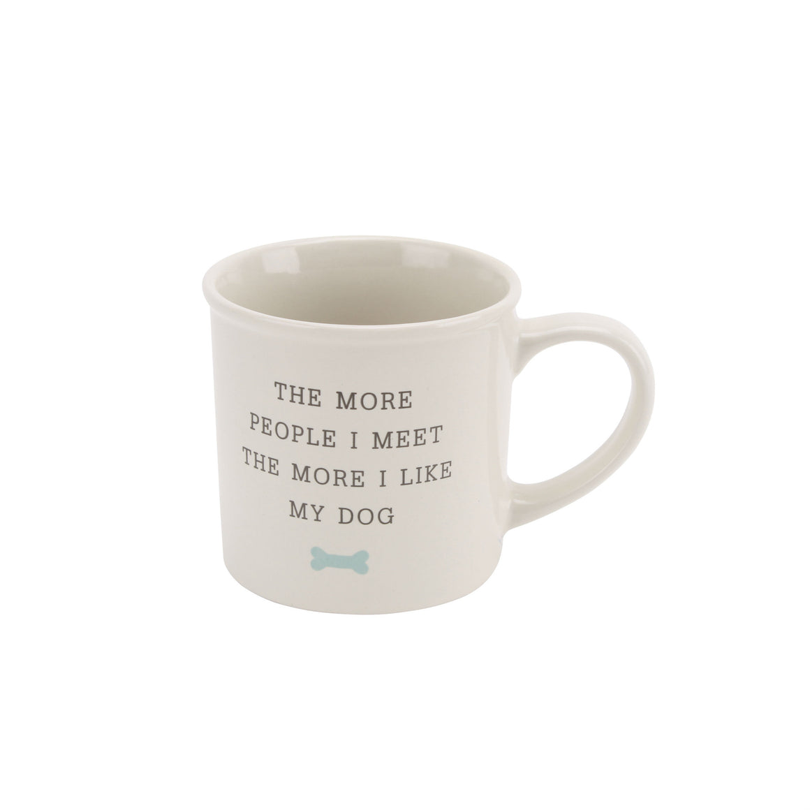 'The More People I Meet The More I Like My Dog' Mug - The Love Trees