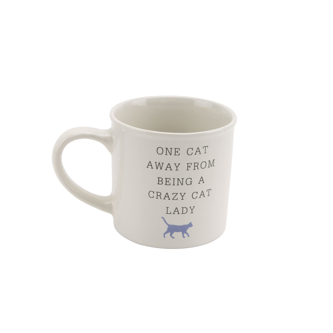 'One Cat Away From Being A Crazy Cat Lady' Mug - The Love Trees